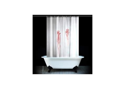 Blood Shower Curtain by Blood Bath Shower Curtain Attitude Clothing