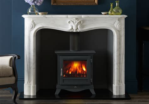 Wood Burning Stove In Fireplace by Beaumont 5kw Wood Burning Stove The Fireplace Co