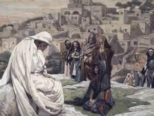 Jesus weeps over jerusalem james tissot
