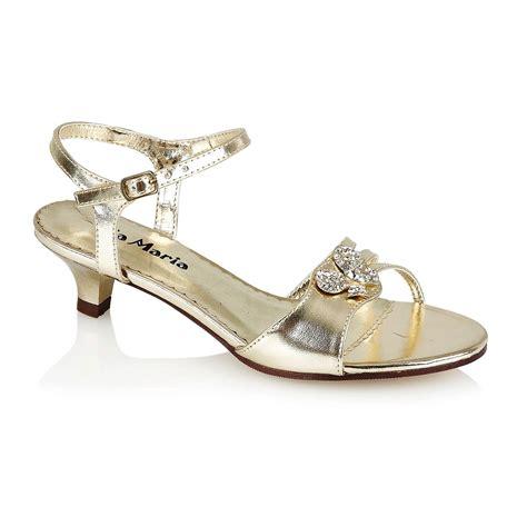 Fancy Sandals For Wedding by Bridesmaid Low Heel Wedding Fancy