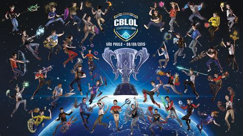 Calendario Worlds Lol 2017 Riot Lan 231 A Papel De Parede Desenhos Dos Jogadores Do Cblol