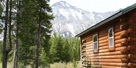 Cabins In National Park by Lodging In Glacier National Park Summit Mountain Lodge