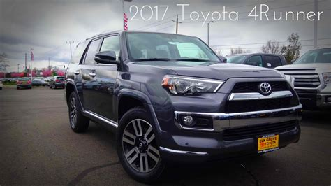 toyota 4runner 2017 black 2017 toyota 4runner limited 4 0 l v6 review