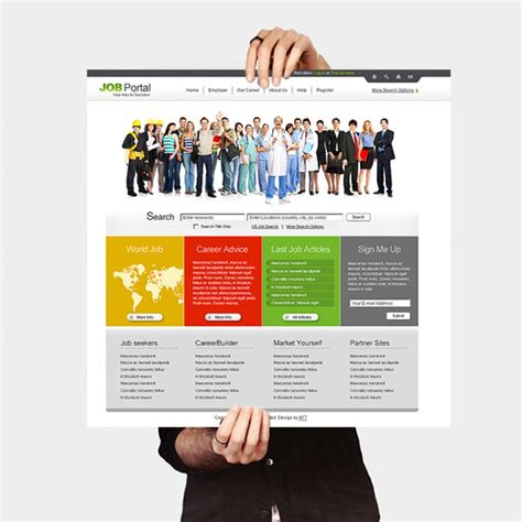employee portal pbg web design managed responsive