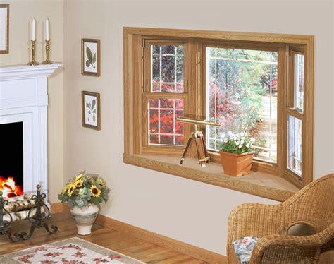 home windows design in wood 45 degree wood bay window w prairie grids weathermaster