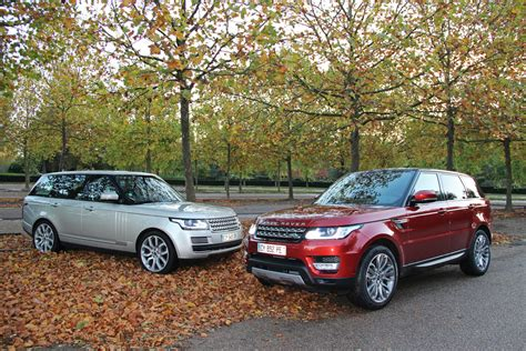 land rover vogue sport range rover vs range rover sport a comparison