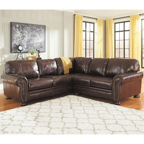 2pc laf sofa leather sectional 0h0 504ls 2pc