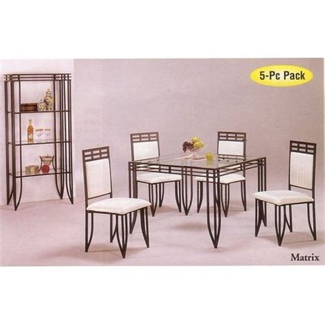 pier one wrought iron table and chairs where can i find pc matrix style black wrought iron square