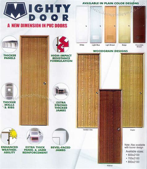 Contemporary Homes Interior Designs mighty door interior pvc doors by emerald philippines