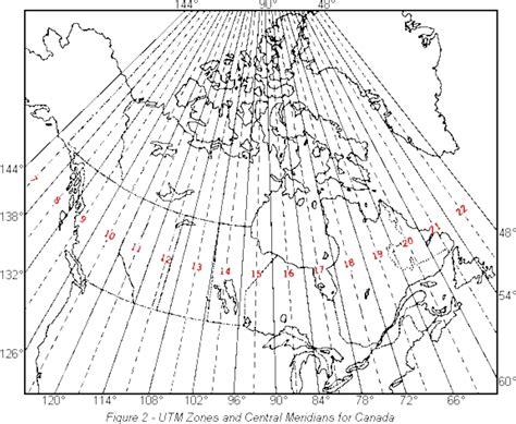 utm map the utm grid universal transverse mercator projection