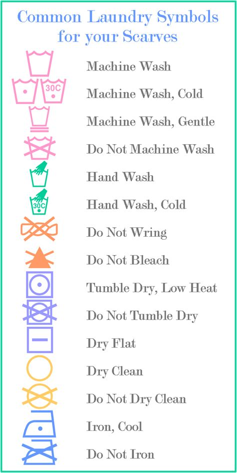 wash with like colors symbol how to wash a scarf