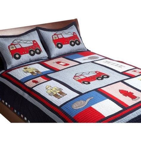 firefighter comforter fire truck bedding fire truck quilts pinterest truck