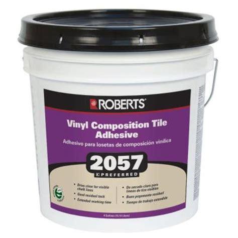 4 gal premium vinyl tile glue adhesive 2057 4