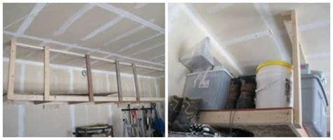 Rangement Au Plafond Garage by 14 Id 233 Es De Rangement Pour Le Garage