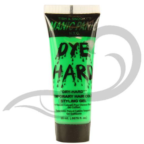 3 pack manic panic dye hard temporary hair color styling manic panic dye hard uv reactive coloured hair gel