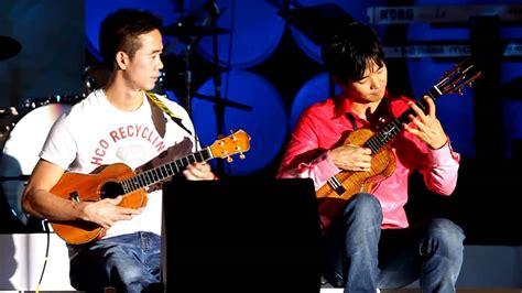 ukulele lessons jake shimabukuro jake and bruce shimabukuro piano forte youtube