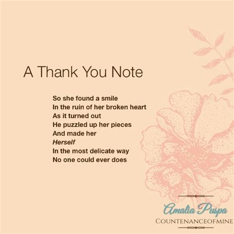Thank You Letter During Illness boy broken him note poem