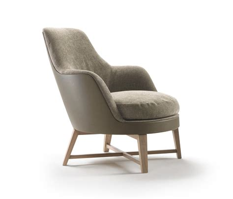 Soft Armchair by Guscio Soft Armchair Lounge Chairs From Flexform