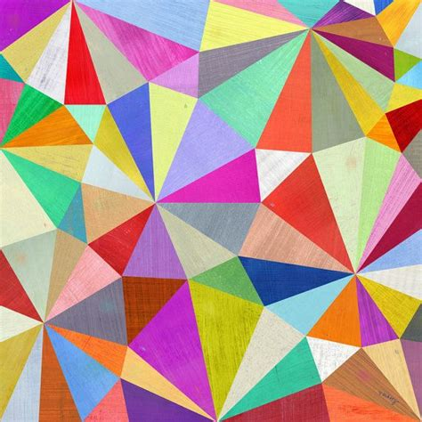 geometric pattern art kaleidoscope geometric art print