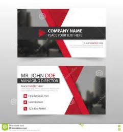 Red Black Corporate Business Card, Name Card Template