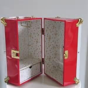 vintage doll trunk carrying wardrobe by sosovintage