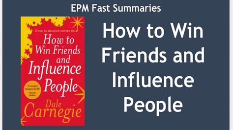 how to win friends and influence book report book summary how to win friends and influence