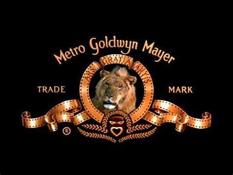 roaring lion film logo mgm lion roar youtube