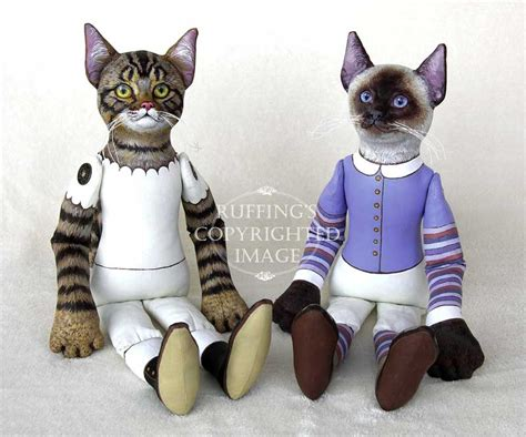 Cat Doll by Cats Without Clothes Elizabeth Ruffing S And Studio