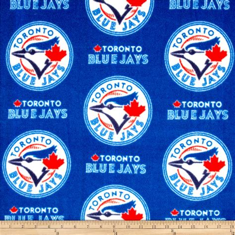 Toronto Blue Jays mlb toronto blue jays fleece discount designer fabric