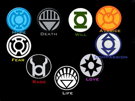 lantern corps colors the gallery for gt avarice lantern