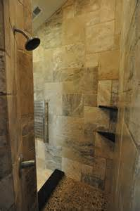 Bathroom Showers Rock Bathrooms Spas And Tile Showers Traditional
