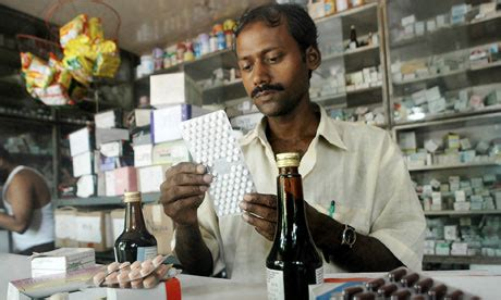 Indian Pharmacy by India Fears Generic Drugs For Poor Are Endangered By