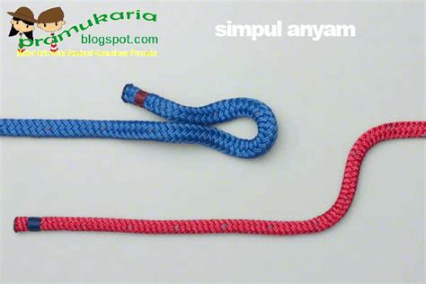 tutorial membuat tali kur pramuka august 2013 saka wanabakti mamuju
