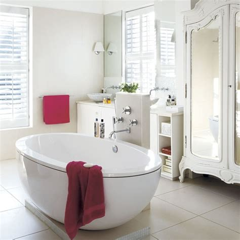 the white house bathrooms bathroom step inside a relaxed pure white family home