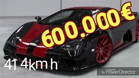 Schnellstes Auto Der Welt 2017 by Top 10 Schnellsten Autos 2017 German