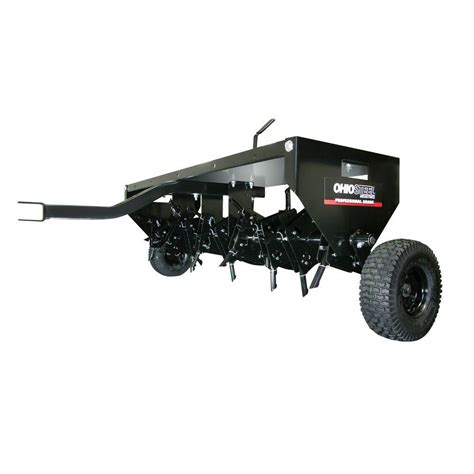 brinly hardy 40 in tow spike aerator sa 400bh