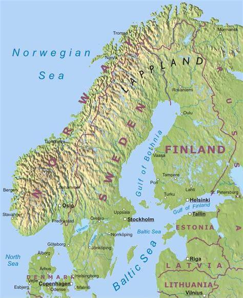 scandinavia map the barbarian chronicles sle scandinavia