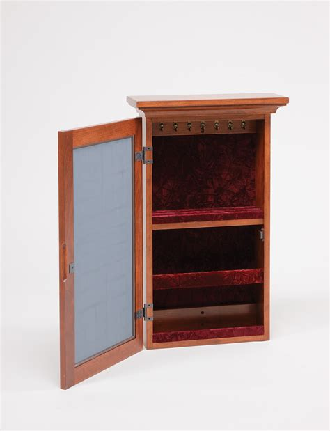 Wall Armoire Jewelry by Wall Mounted Jewelry Mirrored Armoire Amish Valley Products