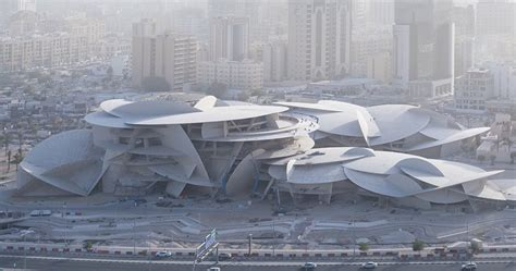 qatar national museum  jean nouvel nears completion  doha
