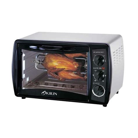 Dan Spesifikasi Microwave Kirin jual kirin kbo 190ra oven elektrik 19 liter abu abu harga kualitas terjamin