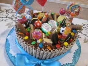tortas golosineras imgenes torta para cumplea 241 os de ni 241 os con golosinas y chocolates