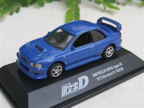 subaru impreza wrx initial d yodel 1 72 diecast car model initial d subaru impreza wrx