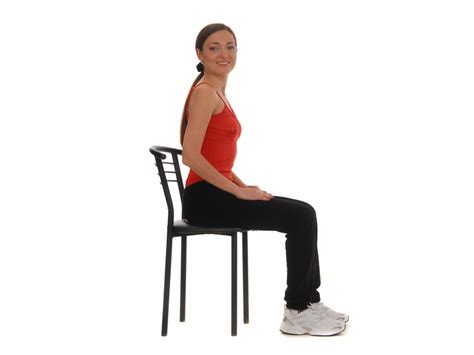 single leg chair squats for strength and balance easy