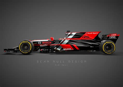 livery f1 hey audi how about you join formula 1 already carscoops
