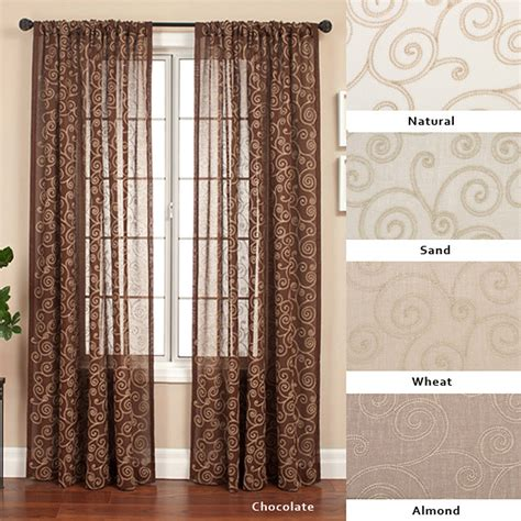 96 inch panel curtains cypress rod pocket 96 inch curtain panel