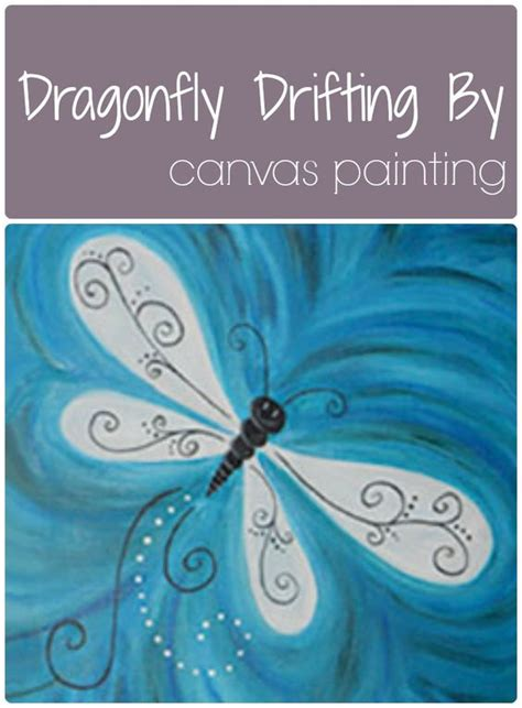 Social Artworking Canvas Painting - social artworking dragonfly drifting by bugs