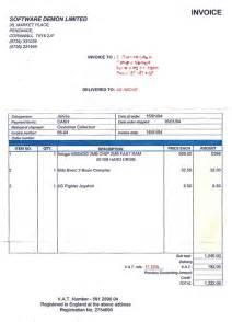 invoice receipt pc repair joy studio design gallery