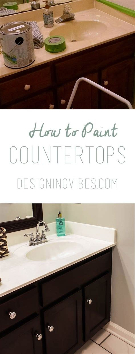 Paint Bathroom Sink Countertop by 17 Best Ideas About Painting Bathroom Sinks On