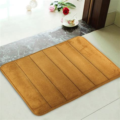 bathroom toilet rugs new memory foam bath mats bathroom horizontal stripes rug non slip mats 60x41cm ebay