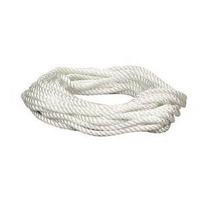 Best Paint For Bathroom Ceiling by Shop Lehigh 3 8 In X 25 Ft White Twisted Nylon At